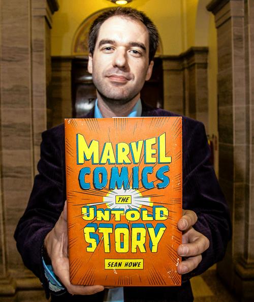 comic book artist Sean Howe at Brooklyn Book Festival.