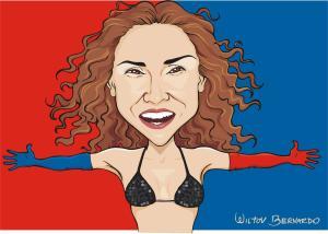 Caricatura-Daniela-Leve